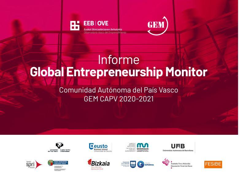 Se presenta GEM País Vasco 2020-2021, el informe sobre la actividad emprendedora clave en nuestra comunidad